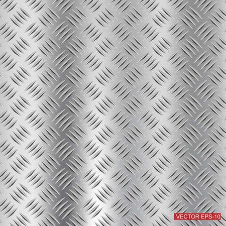 Stahl Diamant-Platte Textur Hintergrund Illustration