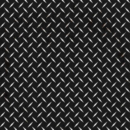 diamond plate: Dark metal background.Vector illustration