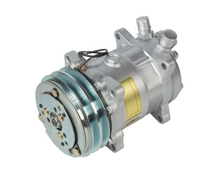 air: Air compressor isolated