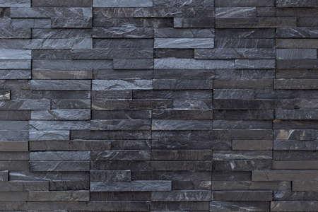 Black slate wall background