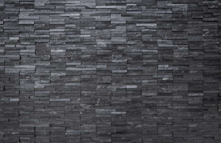 contemporary interior: Black slate wall background