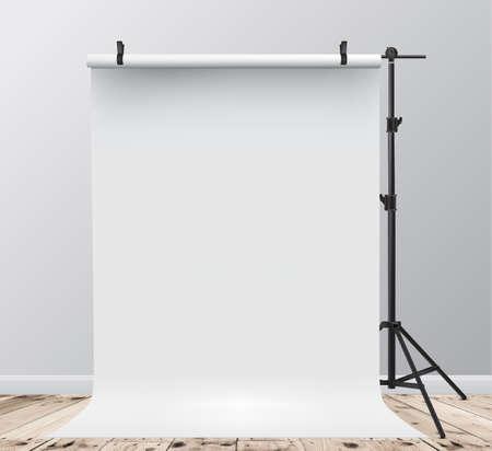 Studio Backdrop. Vector illustration