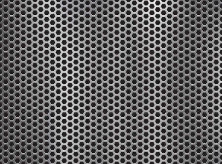 metal grill background.Vector illustration Vetores
