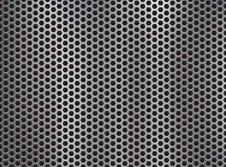 metal grill background.Vector illustration