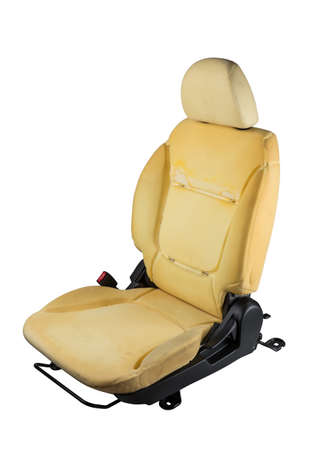 Car seats isolated.