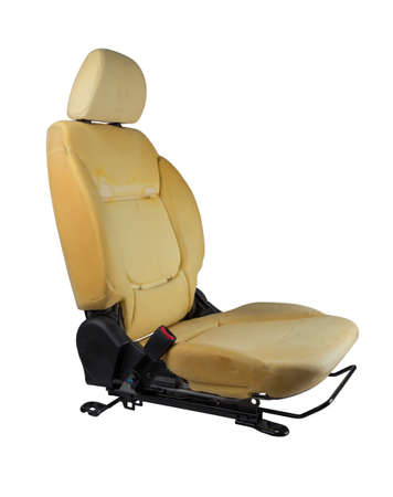 drivers seat: Car seats isolated.
