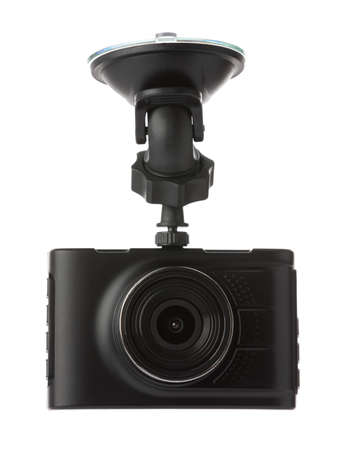 car camera isolated on a white background. 版權商用圖片