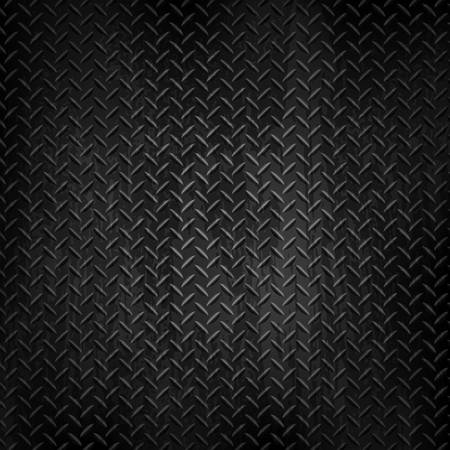 Donkere metalen achtergrond. Vector illustratie
