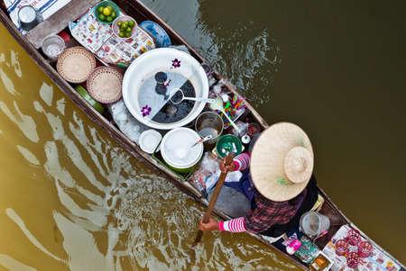 saduak: Floating market, Damnoen Saduak