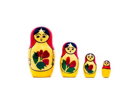 nesting: Russian nesting dolls ( babushkas or matryoshkas)