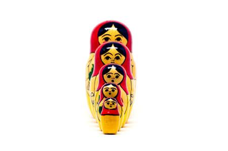matryoshkas: Russian nesting dolls ( babushkas or matryoshkas)