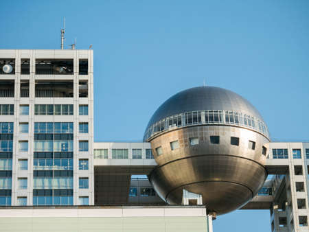 headquarter: Tokyo, Japan - Mar 22, 2016 : Fuji Television Headquarter at Odaiba city in Tokyo, Japan. Fuji TV is the biggest private television on Japan. Editorial