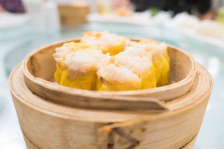 Shumai is a type of traditional Chinese dumpling filled with shrimp pork or crab