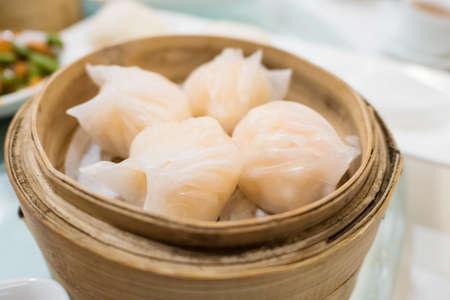 Har gow the dumpling is sometimes called a shrimp bonnet
