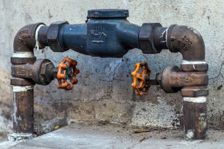pipework: dirty valves and pipes