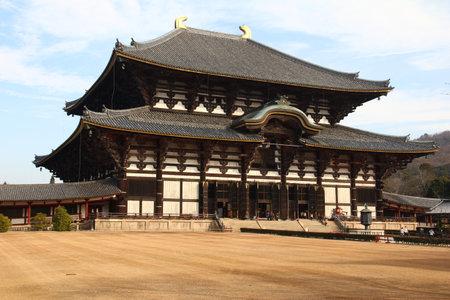todaiji: Todaiji temple in Nara