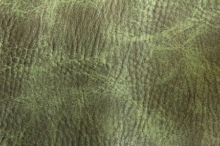 polyurethane: green polyurethane leather Stock Photo