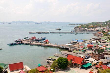 chang: Pier at Koh Sri chang