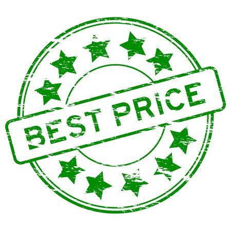 grunged: Green grunged best price stamp