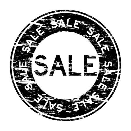liquidation: Black grunged clearance sale stamp
