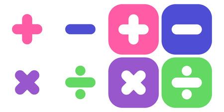 multiplicar: s�mbolo de la matem�ticas: sumar, restar, multiplicar, dividir