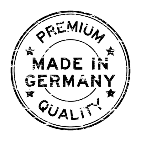 made in germany: Black made in Germany stamp