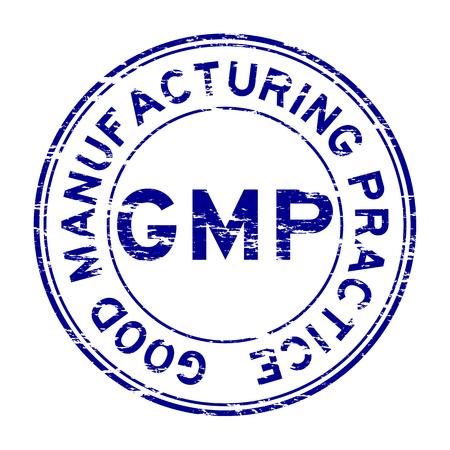 그런지 GMP (Good Manufacturing Practice) 스탬프