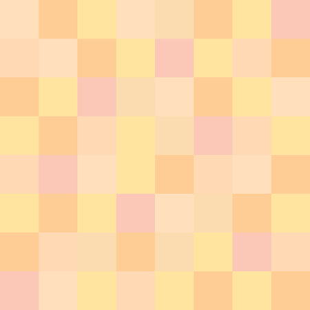 artistic nude: Abstract pink and yellow tone square censor background Illustration
