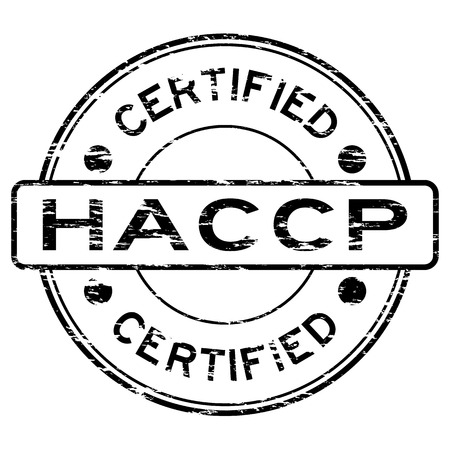 requirement: Grunge black HACCP (Hazard Analysis Critical Control Points) certified rubber stamp Illustration