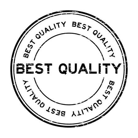 qualify: Grunge black best quality rubber stamp