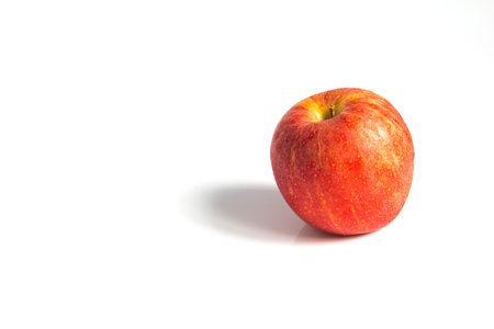 wizen: Wizen apple presented as old aging skin Stock Photo