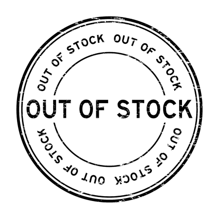black out: Grunge black out of stock rubber stamp