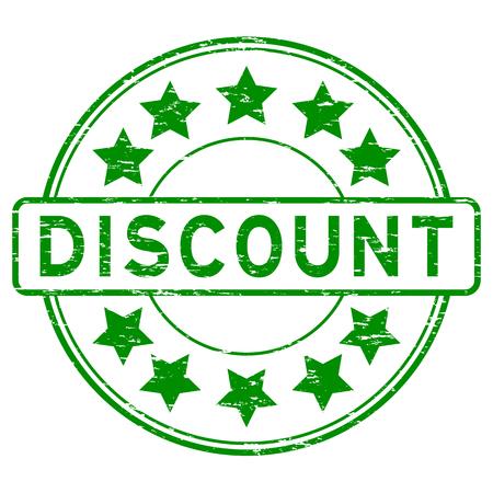 Grunge green discount rubber stamp