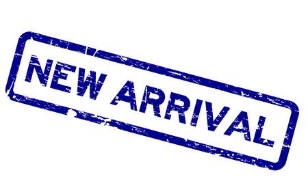 Grunge blau neue Ankunft Platz Gummidichtung Stempel