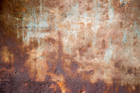 black metallic background: Dark red brown rust metallic sheet background Stock Photo
