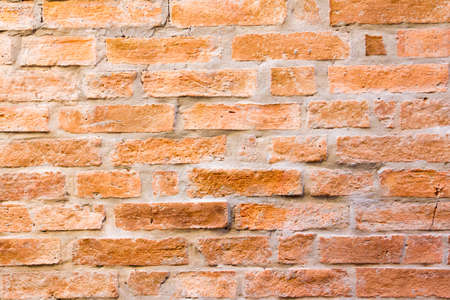Grunge blank red brown color of brick wall background Stock Photo