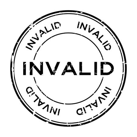 Invalid banner. Illustration
