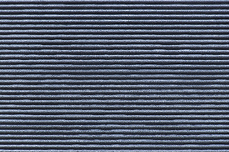 Black color corrugated paper foam textured background for decoration 스톡 콘텐츠