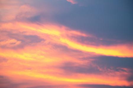 Beautiful cloud sky background in twilight color