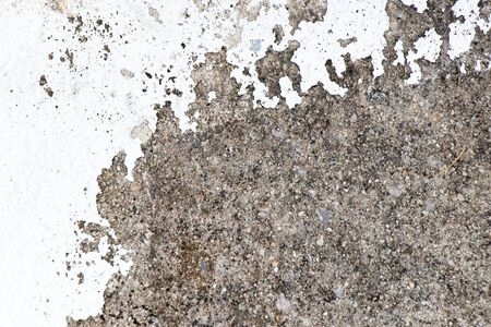 Dirty and stained concrete floor textured background