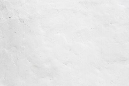 Grunge white color concrete wall textured background Standard-Bild