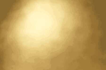 Gold color of blurred bokeh background. (Vector)
