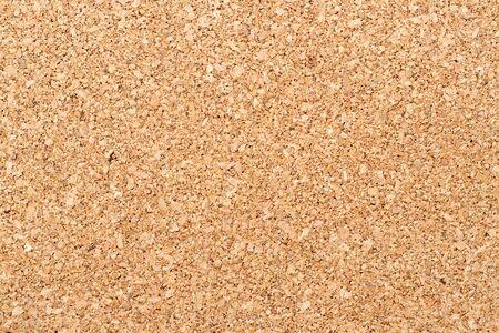 Brown yellow color of cork board textured background Standard-Bild