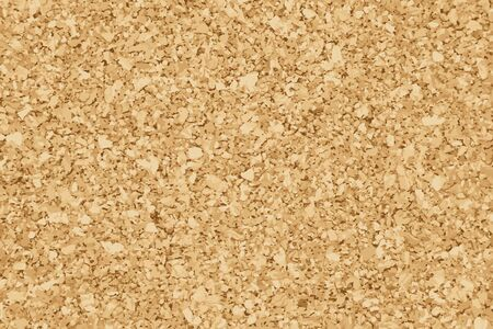 Brown yellow color of cork textured background (Vector)
