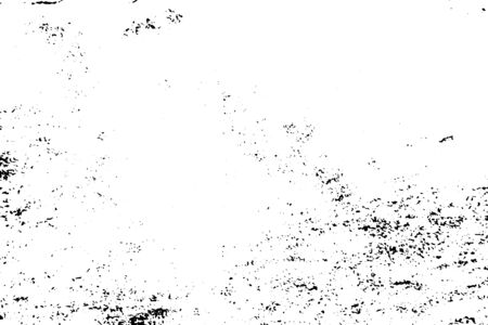 Grunge black and white texture background (Vector). Use for decoration, aging or old layer Ilustrace