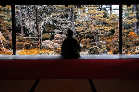 meditatie Stockfoto