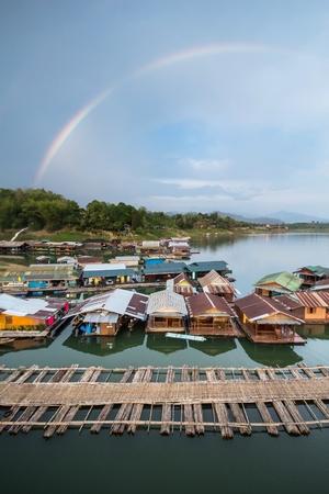 sangklaburi, kanchanaburi, Province Asia thailand photo