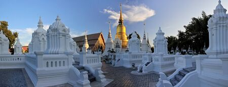 Wat Suan Dok (klooster) in Chiang Mai Thailand