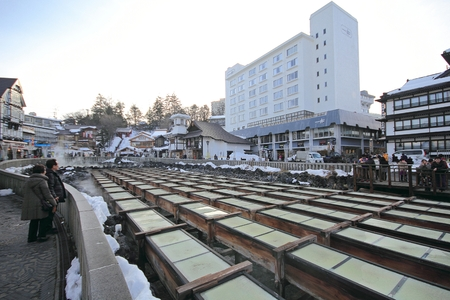 Kusatsu Onsen is one of Japan most famous hot spring resorts and is blessed with large volumes of high quality hot spring water said to cure every illness but lovesickness.