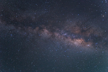 A night sky full of star and visible milky way